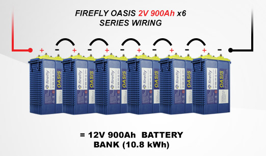 Power Bank Series Wiring Example