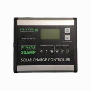 12V/24V 30A PWM Solar Charge Controller