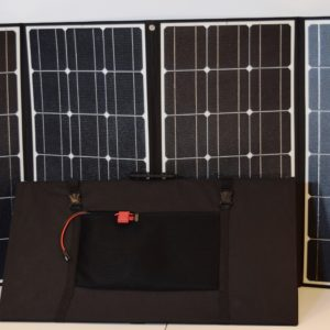 420W Plus Folding Solar Panel Kit for RVs, Cabins & Cottages