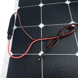 100W Flexible Solar Panel Kits for RVs, Marine, Cabins & Cottages