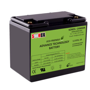 12V 50Ah SiO2 Battery