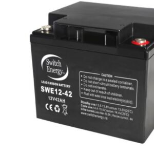 12V 42Ah Lead Carbon Battery