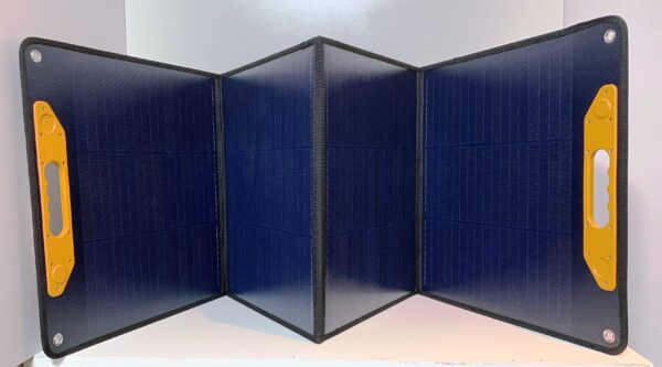 unfolded 160W solar panel
