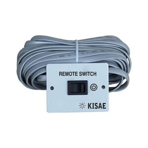 Kisae Remote control with on and off switch