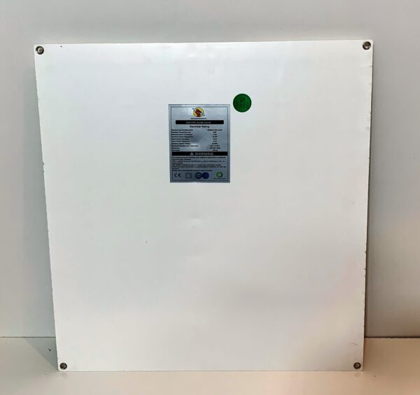 50W solar panel back view